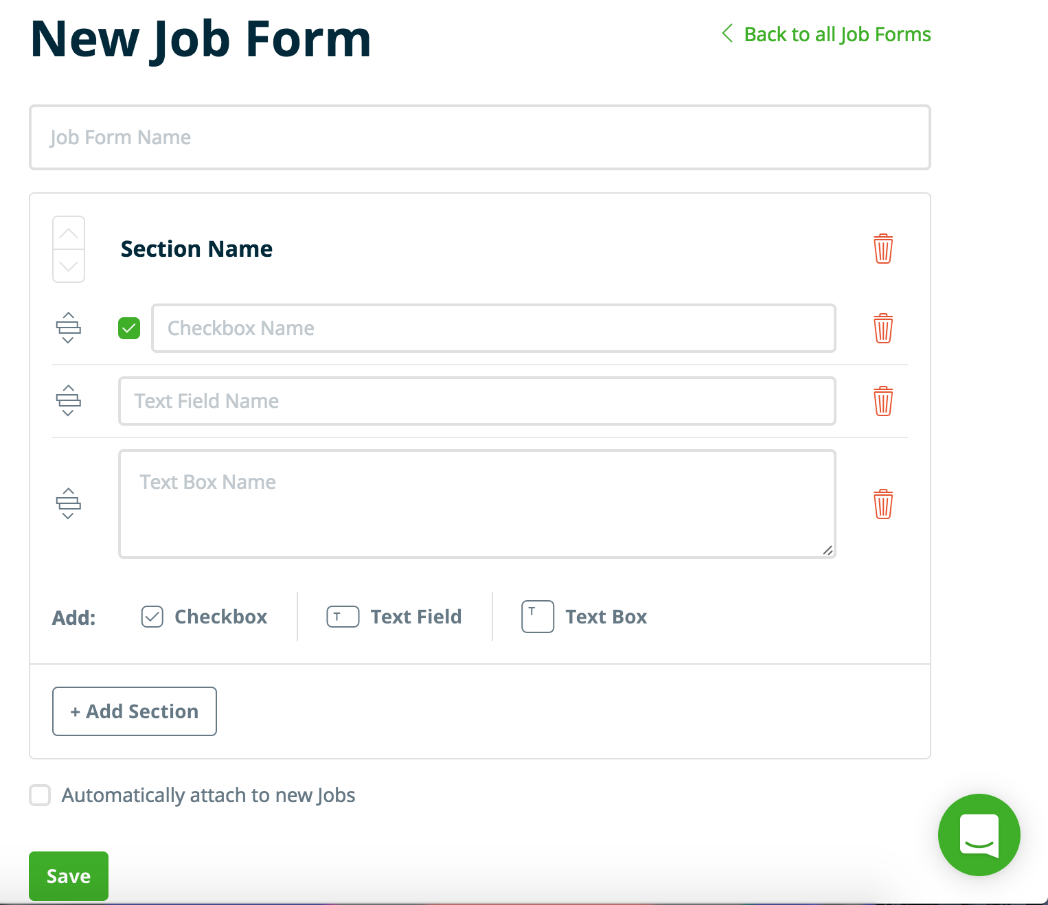 Job Forms – Jobber Help Center