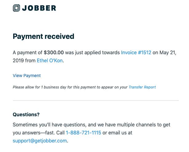 Jobber Payments Preferences – Jobber Help Center